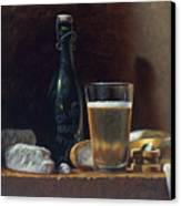 Bleu Cheese And Beer Canvas Print