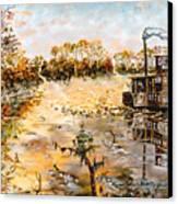 Blockade Runner Canvas Print