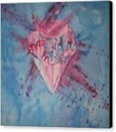 Blood Diamond Canvas Print