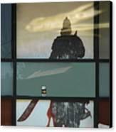 Bloody Knight Canvas Print by Viktor Savchenko