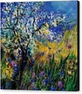 Blooming Appletree Canvas Print