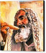 Blow The Trumpet In Zion Canvas Print