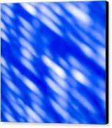 Blue Abstract 1 Canvas Print