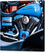 Blue Bike Canvas Print by Tony Reddington