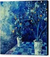 Blue Bunch Canvas Print