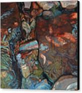 Blue Current Canvas Print