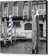 Blue Docks Canvas Print
