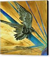 Blue Genesis   Canvas Print