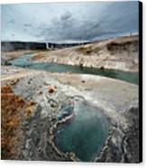 Blue Hole Canvas Print by KH Graphic