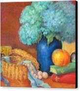 Blue Hydrangeas   Copyrighted Canvas Print