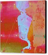 Blue Light Canvas Print by Eileen Shahbazian