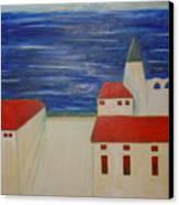 Blue Med Canvas Print