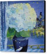 Blue Night Canvas Print
