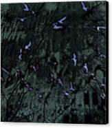 Blue Pool Reflection Canvas Print