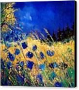 Blue Poppies 459070 Canvas Print