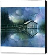 Blue Rapsody Canvas Print