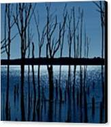 Blue Reservoir - Manasquan Reservoir Canvas Print
