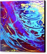 Blue Reverie Canvas Print by Mordecai Colodner