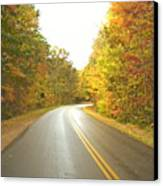 Blue Ridge Parkway In Fall Canvas Print by Utopia Concepts