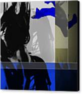 Blue Romance Canvas Print by Naxart Studio