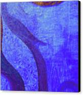 Blue Seed Canvas Print by Ishwar Malleret