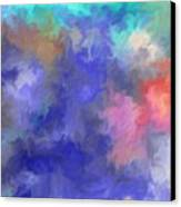 Blue Sky Painting Canvas Print