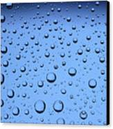 Blue Water Bubbles Canvas Print by Frank Tschakert