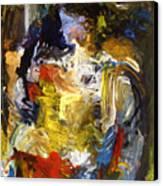 Bluefacegirl Canvas Print