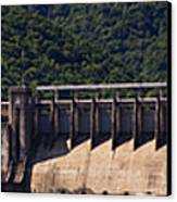 Bluestone West Virginia Dam Panorama Canvas Print