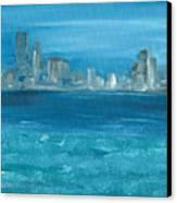 Bluesy Canvas Print