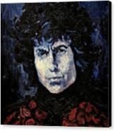 Bob Dylan 1967 Canvas Print by Lutz Baar