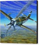Bob Johnsons Thunderbolt Canvas Print