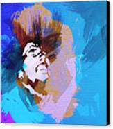 Bob Marley 3 Canvas Print by Naxart Studio
