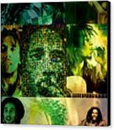 Bob Marley Canvas Print by Ankeeta Bansal