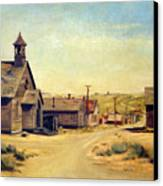 Bodie California Canvas Print by Evelyne Boynton Grierson