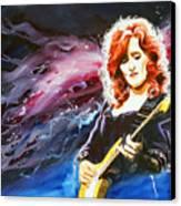 Bonnie Raitt Canvas Print by Ken Meyer jr