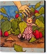 Book Illustration Canvas Print