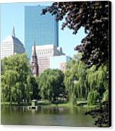 Boston Public Garden Canvas Print
