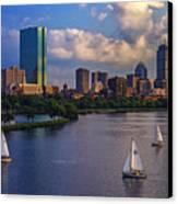 Boston Skyline Canvas Print by Rick Berk