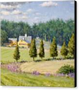 Bothways Farm Canvas Print by Steven A Simpson