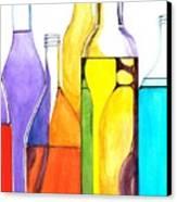 Bottled Rainbow 1 Canvas Print
