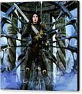 Boudica Canvas Print by Gabor Gabriel Magyar - Forgottenangel