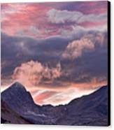 Boulder County Colorado Indian Peaks At Sunset Canvas Print by James BO  Insogna