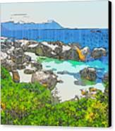 Boulders Canvas Print by Jan Hattingh