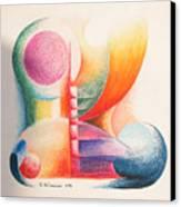 Boulets Canvas Print