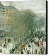 Boulevard Des Capucines Canvas Print