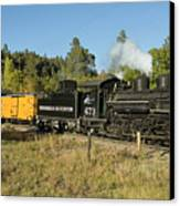 Bound For Durango Canvas Print by Jerry McElroy