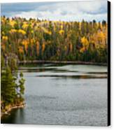 Boundary Waters Overlook Canvas Print by Adam Pender