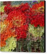 Bouquet Of Colors Canvas Print