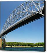 Bourne Bridge  Cape Cod Canvas Print by Mark Wiley